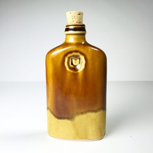 Ohio is Home Flask Light Brown and Tan- Back