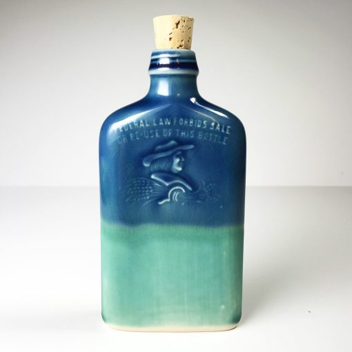 Ohio is Home Flask Blue and Teal - Front