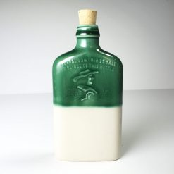 Ohio is Home Flask Green and White - Front