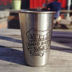 The Original Ohio Brew Week Stainless Pint