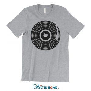 Ohio Vinyl Record T-shirt