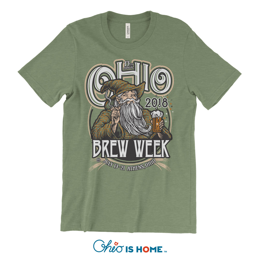 Ohio Brew Week 2018 T Shirt