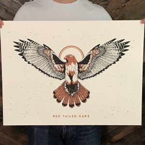 Red Tailed Hawk Print