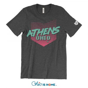 Retro Athens Ohio T-shirt