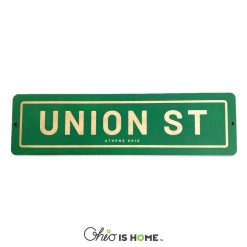 Union Street Athens Ohio Sign