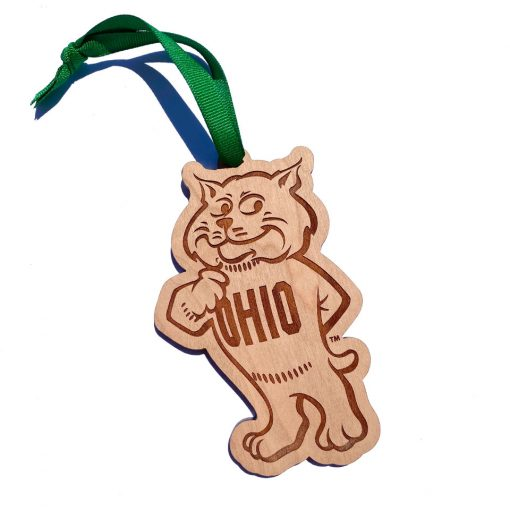 Classic Rufus Ohio U Ornament